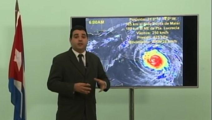 Los cazadores de huracanes en Cuba
