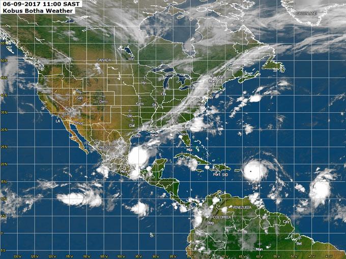 José y Katia, más tormentas tropicales amenazan al Caribe