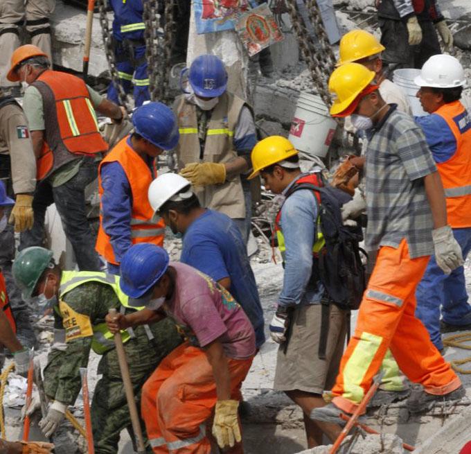 Suman 273 los muertos por terremoto en México (+ fotos y videos)