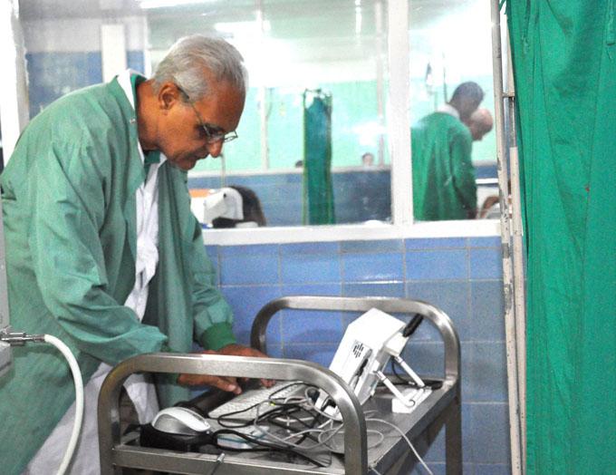 Recibe Programa de trasplante de órganos, moderno equipo transcraneal
