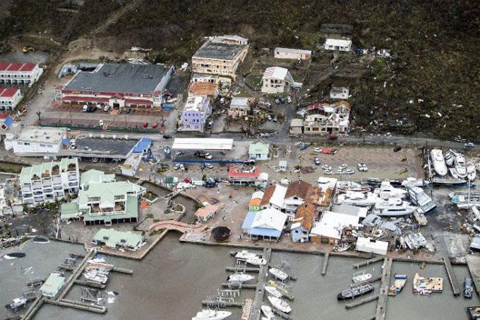 Irma causa pérdidas de unos 200 millones de euros en islas francesas (+ fotos y videos)