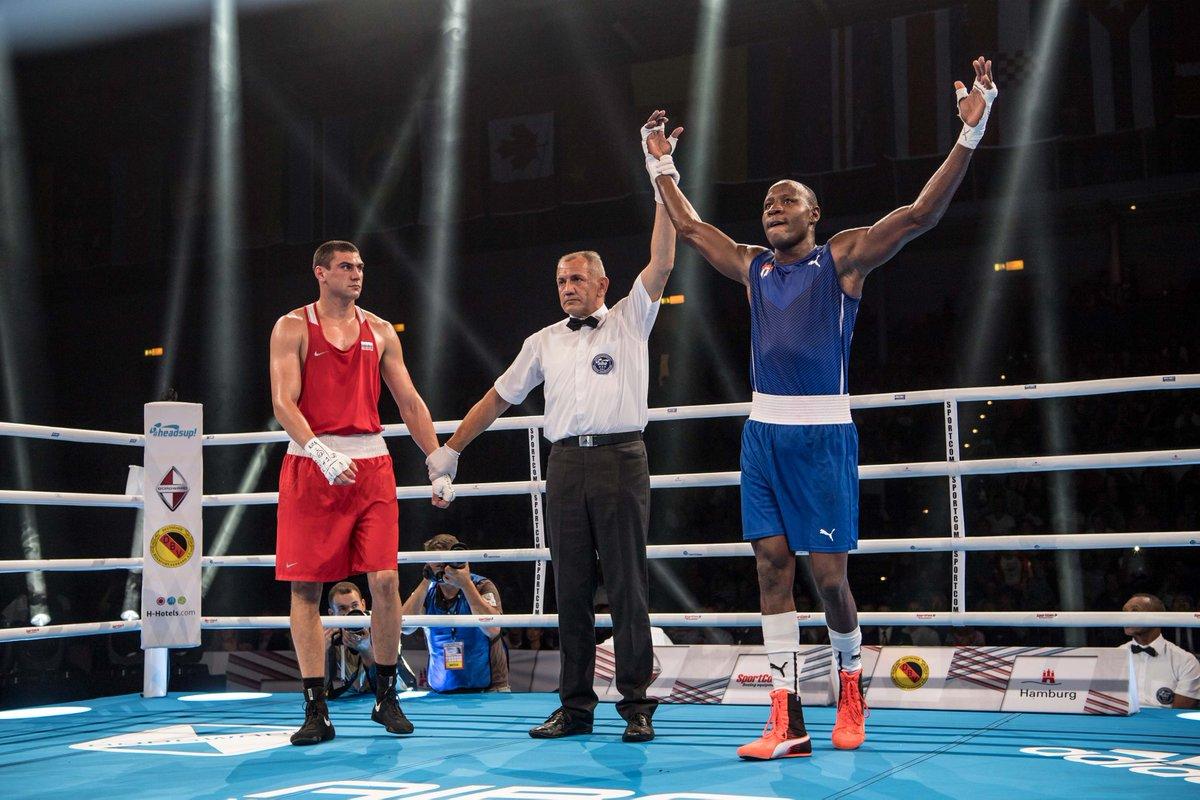 Savón sella actuación cubana de cinco títulos en Mundial de boxeo