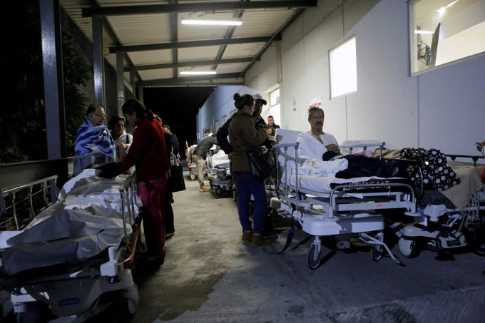 Reportan 31 muertos  por sismo de 8,2 grados que sacudió a México (+ fotos y videos)