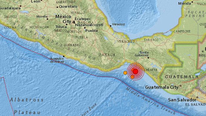Se registra un terremoto en México de magnitud 5,8 (+ fotos y video)