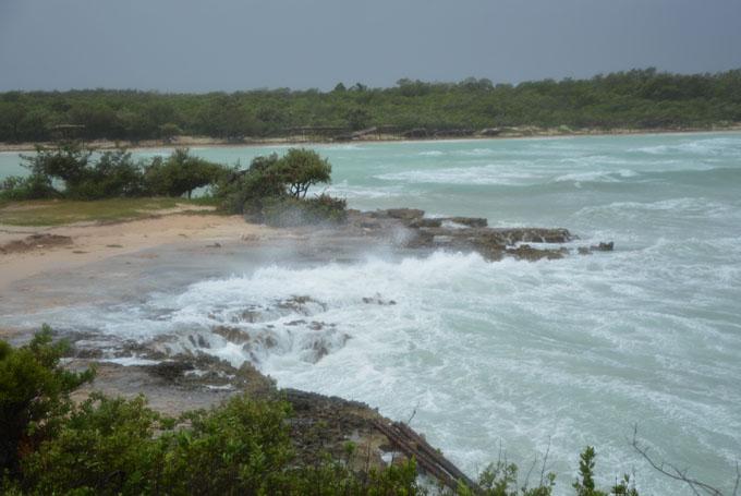 Cayo Coco sufre los embates de Irma (+ fotos y video)