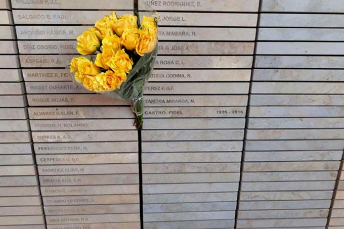 Incluyen nombre de Fidel Castro en monumento homenaje en Sudáfrica