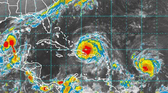 A huracán Irma le sigue los pasos José, con categoría uno