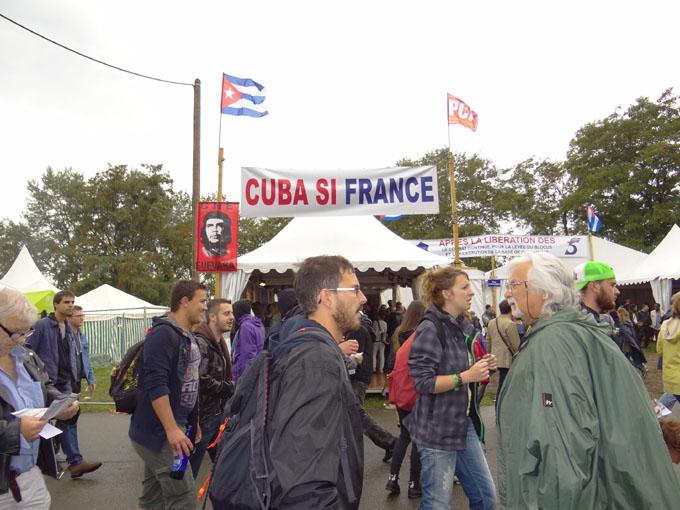 Cuba tendrá amplia presencia en fiesta de L'Humanité en Francia