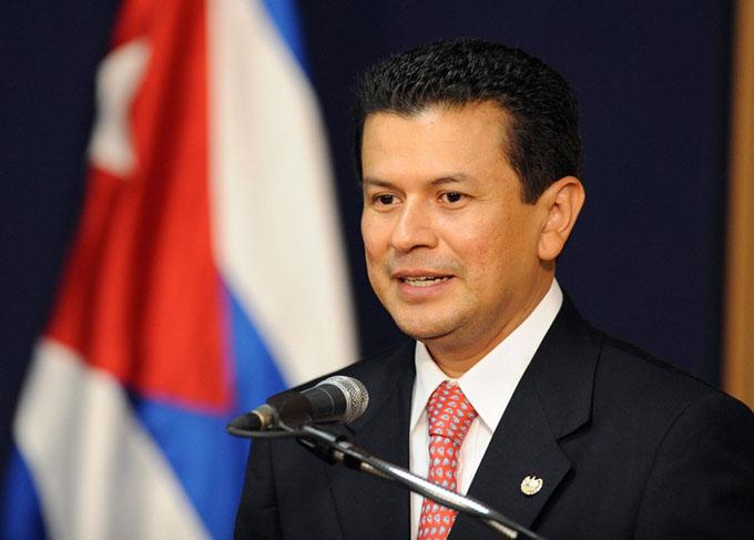 Canciller de El Salvador cumple visita oficial a Cuba