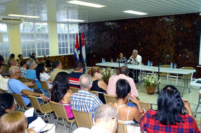 Evento teórico Crisol de la Nacionalidad: 25 años promoviendo la identidad cubana