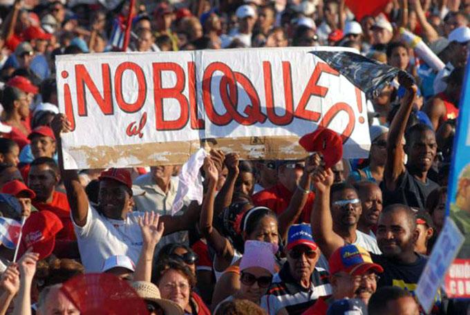 Condena la CTC bloqueo de Estados Unidos contra Cuba