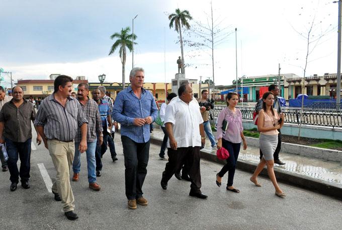 Recorrió Díaz –Canel a Bayamo, en jornada de celebración por la Cultura Cubana (+ fotos)
