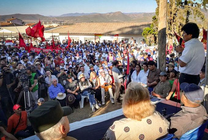 Evo Morales: el ejemplo del Che vive en las nuevas generaciones (+ videos)
