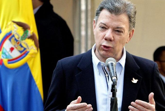 Santos reconoce desafío de construir la paz en Colombia