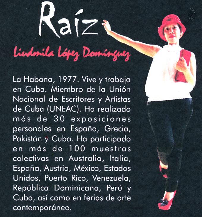Muestra en Bayamo su Raiz la artista Liubmila López Domínguez (+ fotos y videos)