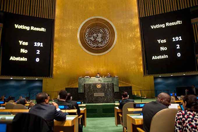 Vaticinan en ONU otra sonada derrota del bloqueo a Cuba