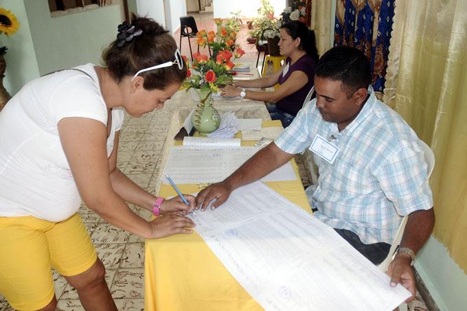 Expuestas listas de electores en más de dos mil lugares