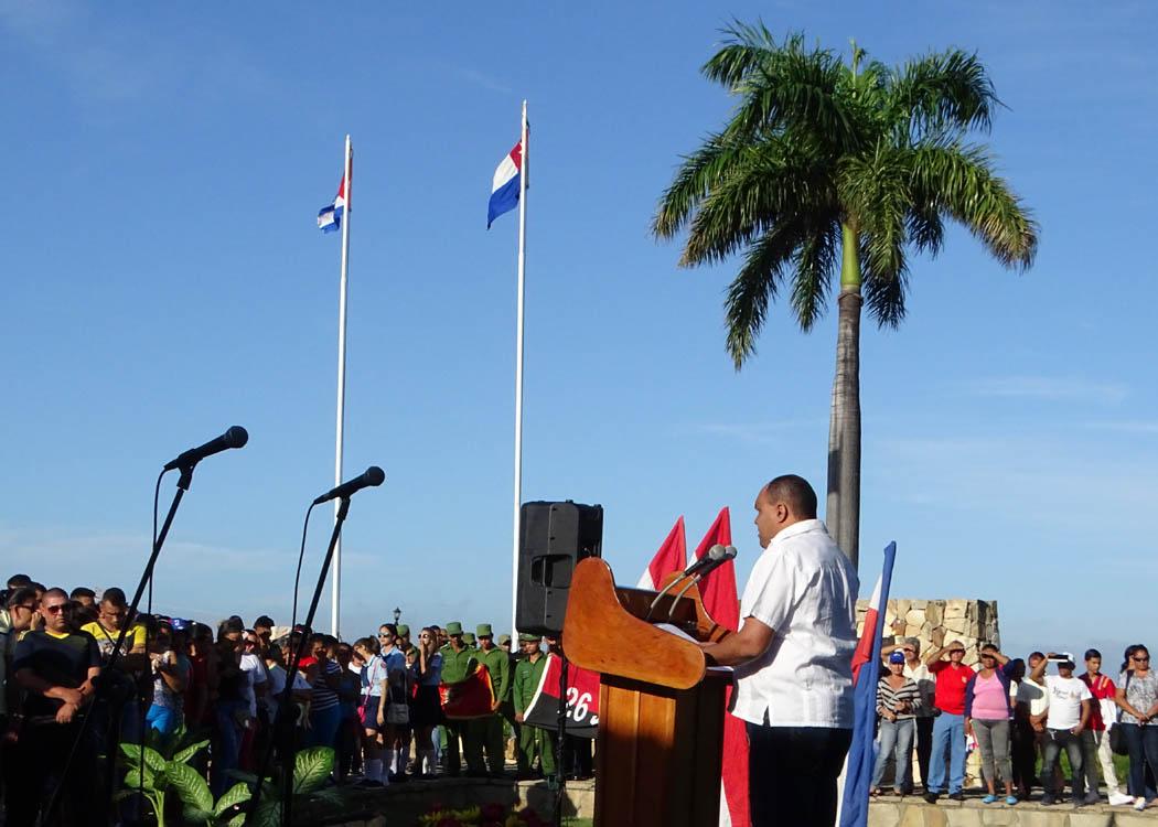 Rememoran  inicio de las guerras por la independencia en La Demajagua( + fotos y videos)