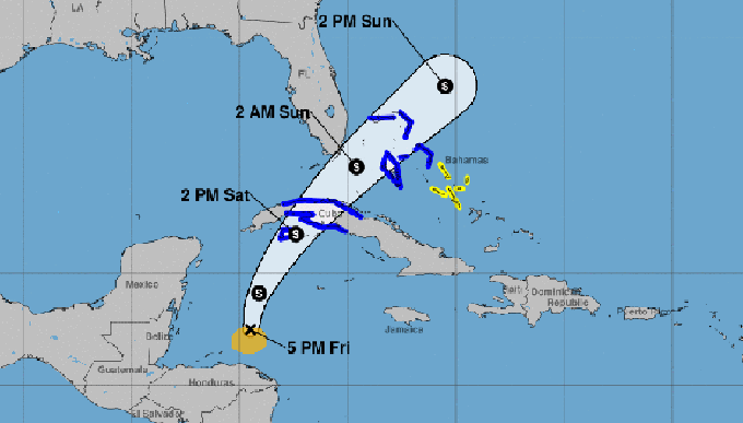 Disturbio atmosférico podría evolucionar a tormenta tropical y afectar Cuba