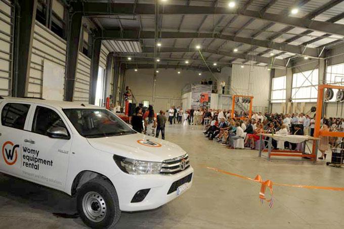 Inauguran en Cuba instalaciones de empresa holandesa Womy
