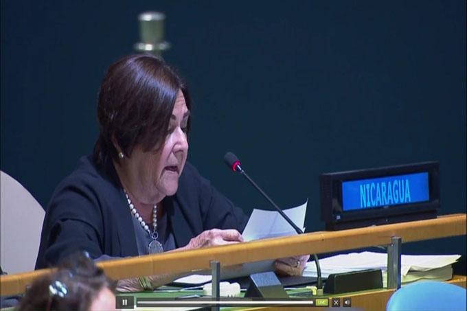 Nicaragua exige a EE.UU. levantar el bloqueo contra Cuba