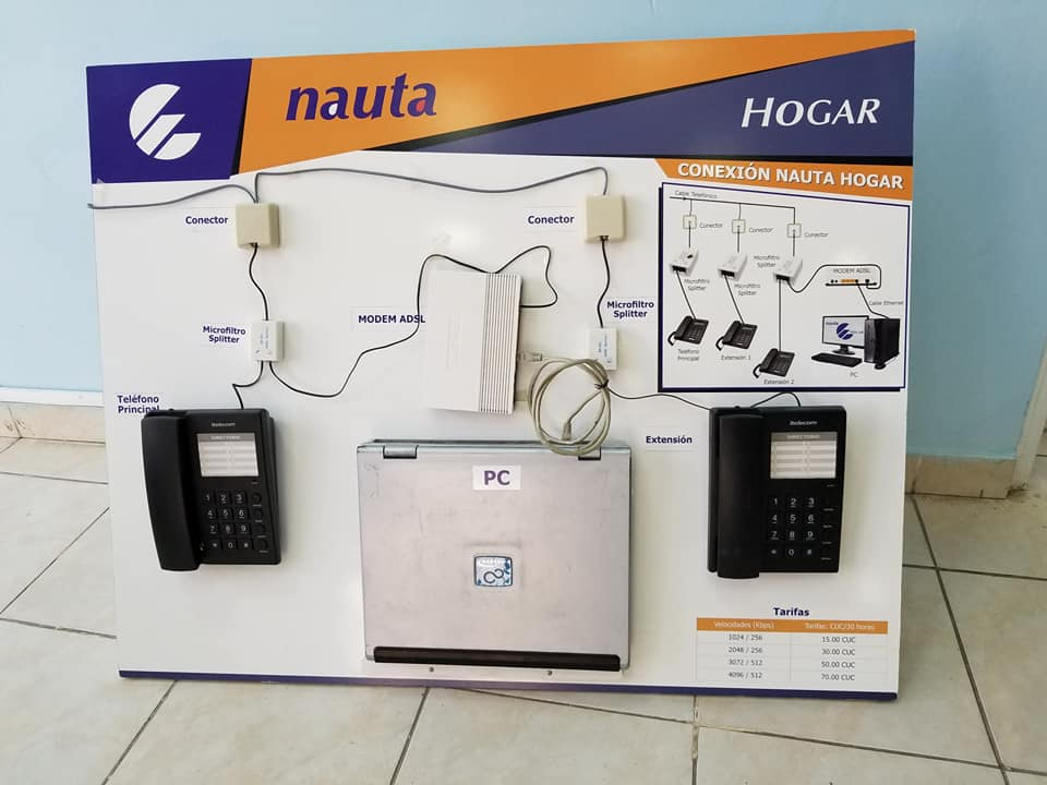 Comercializan Nauta Hogar para los manzanilleros