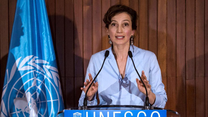 Nueva directora por hacer de la Unesco un espacio de diálogo