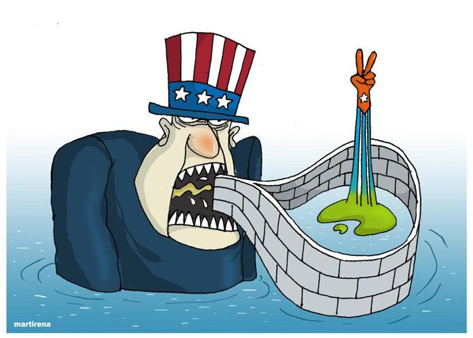 Evo Morales denuncia endurecimiento de bloqueo de EE.UU. contra Cuba