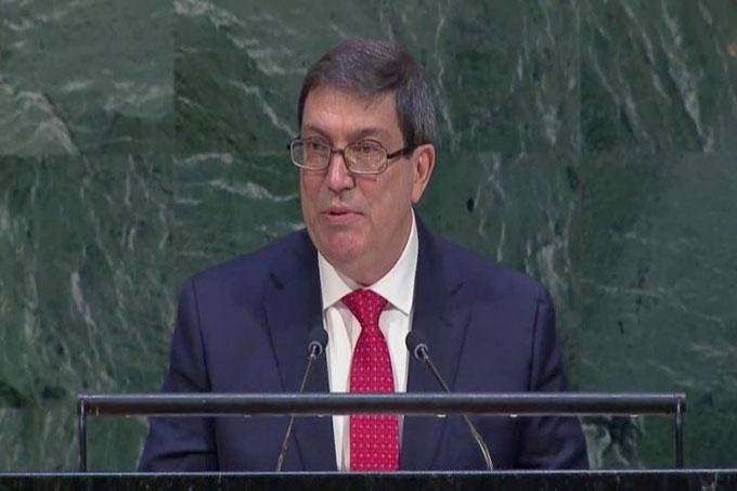 Cuba denuncia en ONU vigencia y recrudecimiento del bloqueo de EE.UU.