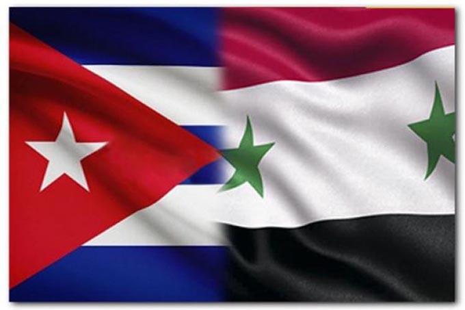 Destacan solidez de relaciones entre Cuba y Siria