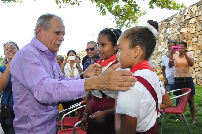 Cuba, la Revolución y Fidel me inspiran (+fotos)