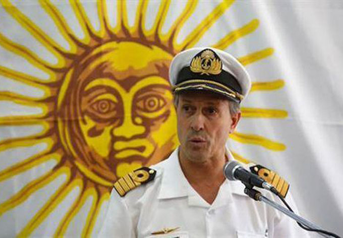 "Armada de Argentina sobre submarino desaparecido: ""Hubo una explosión… seguimos buscando"""