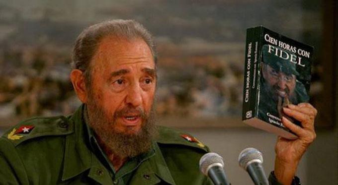 Llanto por la ausencia de Fidel (+fotos)
