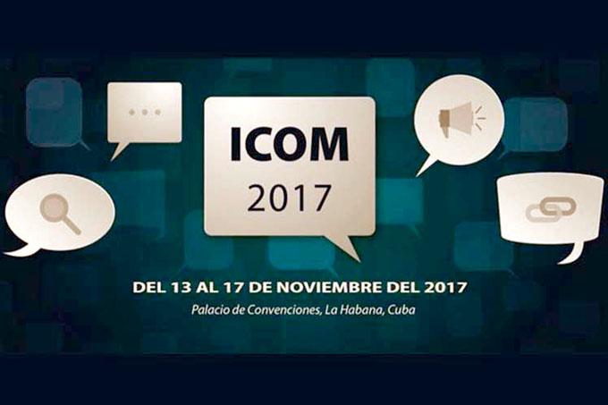 Rol de la comunicación en el desarrollo marca primer día de ICOM