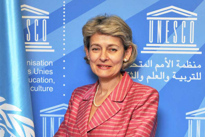 Directora de Unesco recibió en París a ministra de Cuba