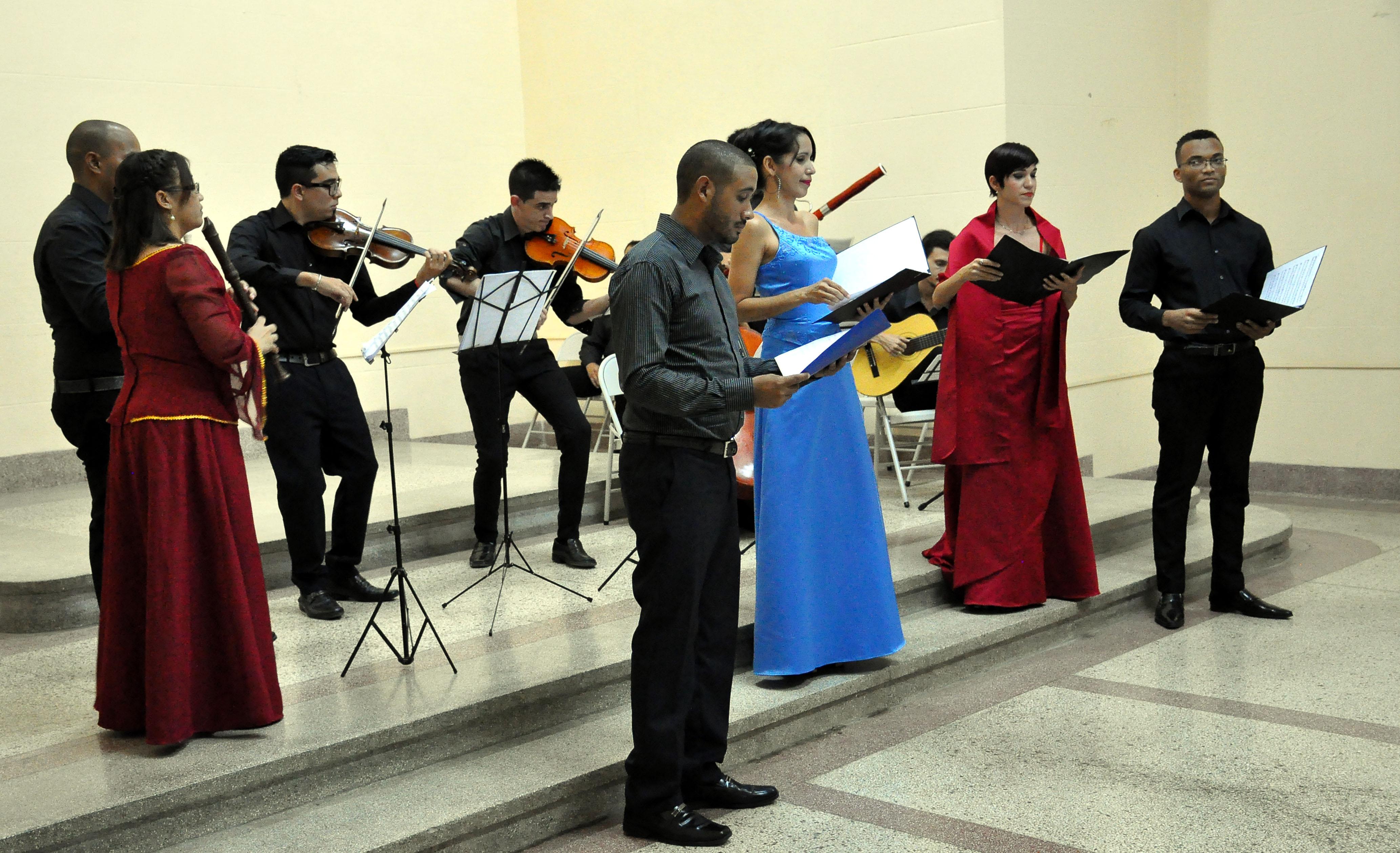 La música antigua en Bayamo por rescatar un espacio social (+ fotos y video)