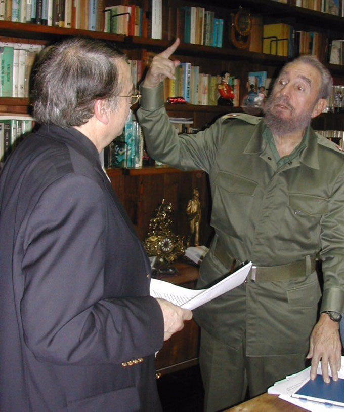 Fidel en tres dimensiones