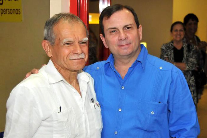 Llegó Oscar López Rivera a Cuba: «Siento que estoy en casa»