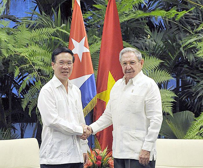 Recibió Raúl a alto dirigente del Partido Comunista de Vietnam