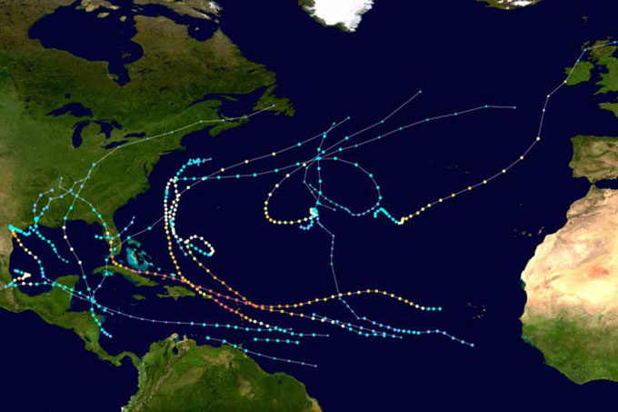 Llega a su fin la temporada ciclónica 2017 para el océano Atlántico