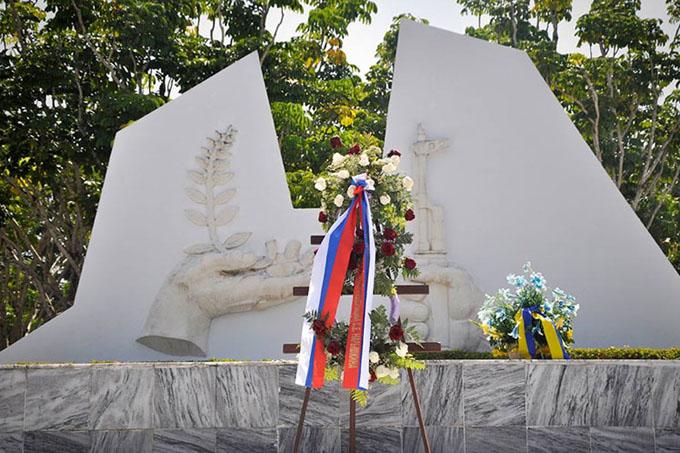Conmemoran en Cuba centenario de Revolución Socialista de Octubre