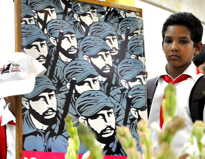 En cada aula de Granma crecen niños con deseos de ser como Fidel