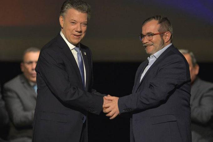 Conmemoran en Colombia firma del Acuerdo de Paz