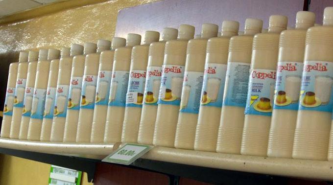 Comenzó venta de leche condensada en envase plástico