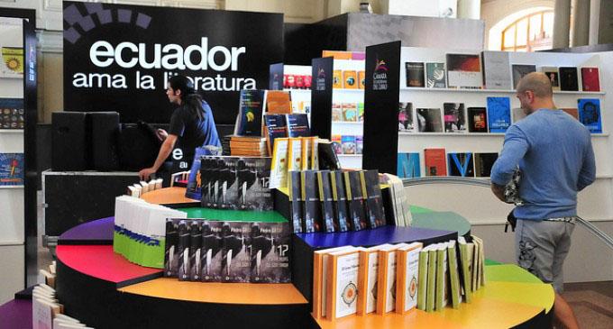 Satisfecha Cuba con acogida en Feria del Libro Quito 2017