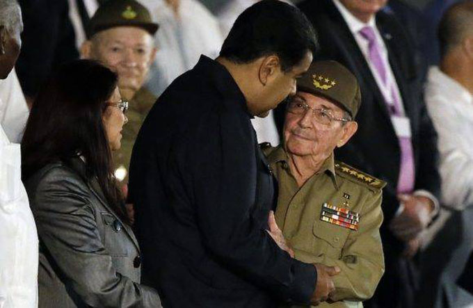 """Maduro en carta a Raúl: """"Fidel está en nuestra conciencia histórica"""""""