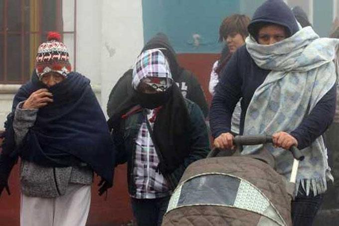 Alerta en Ciudad de México por bajas temperaturas