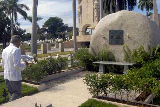 Homenaje a Fidel Castro del independentista boricua Oscar López