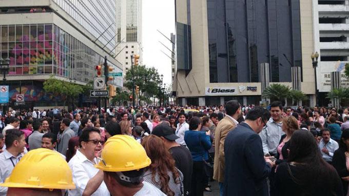 Sismo de 6,2 estremece Guayaquil y otras ciudades de Ecuador (+foto y video)