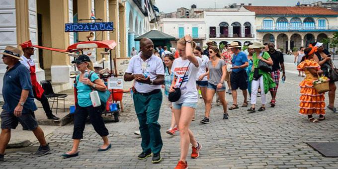 Arriba Cuba a los cuatro millones de visitantes internacionales